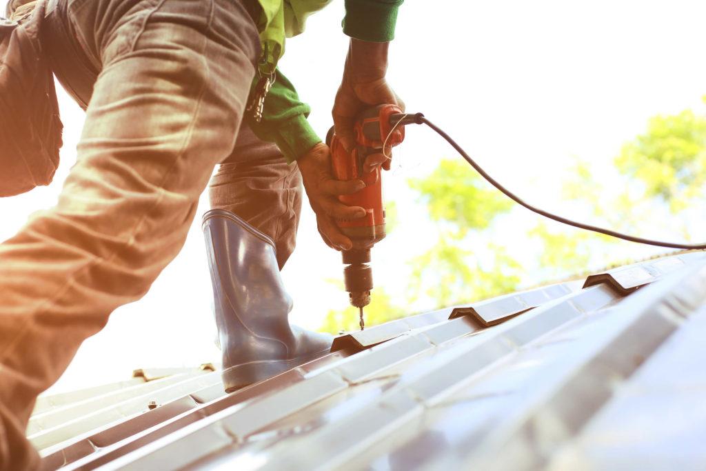 Repair | Metallic Coating | Commercial | Les Constructions Powers Inc.