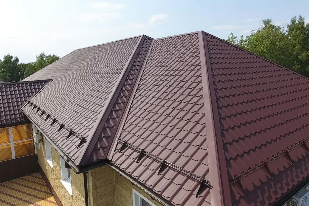 Autre type de toiture métallique